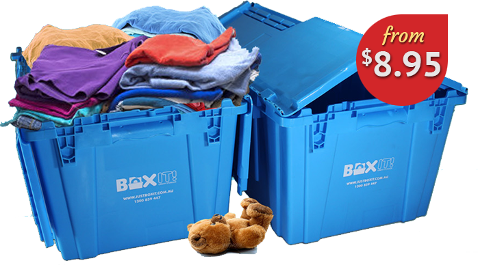 BoxIT Self Storage Boxes just $8.95 per box per month